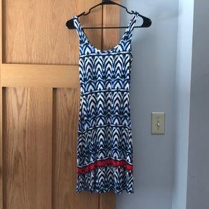 Tart, XS, multicolored, cotton, stretch dress